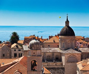 dubrovnik and beautiful palce image