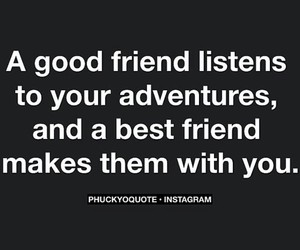 best friends, quote, and quotes image