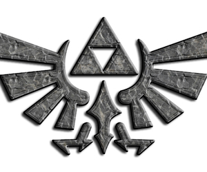 gaming, triforce, and link image
