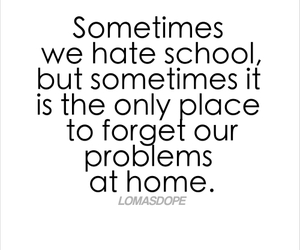 quote, hate, and home image