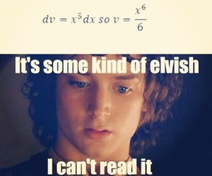 funny, math, and frodo image