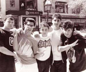 nkotb, danny wood, and donnie wahlberg image