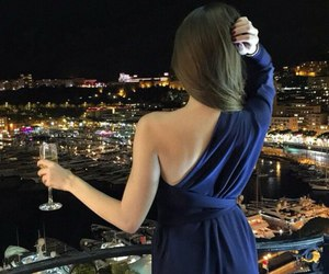 girl, dress, and luxury image