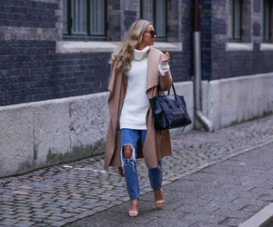 blonde, style, and winter image