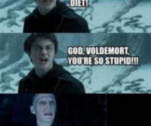 carbs, voldemort, and harry image