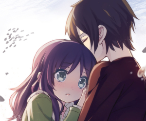 anime, nagi no asukara, and couple image