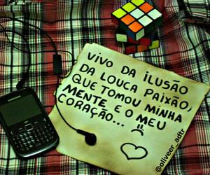 amor, cubo magico, and paixão image