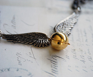 gold, magical, and necklace image
