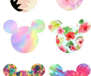 background, batik, and flowers image