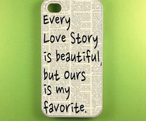 love, iphone, and quotes image