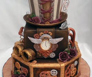 cake and steampunk image