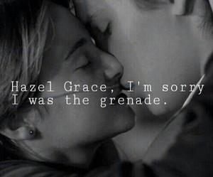 quote, hazel grace, and tfios image
