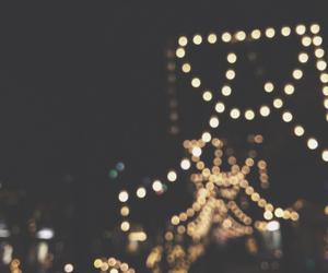 beauty, christmas, and lights image