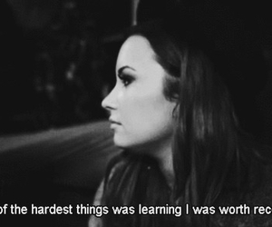 demi lovato, quote, and recovery image