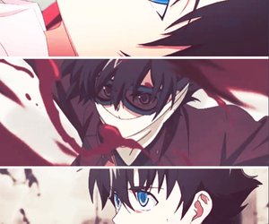 anime, blood, and cool image