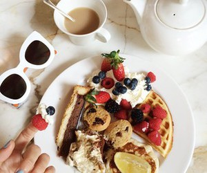 breakfast, coffee, and eat image