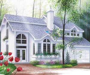 beautiful, home, and house image