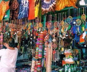 colors, hippies, and atrapa sueños image