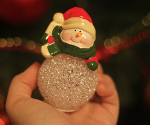 christmas, new year, and snowman image