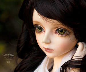 doll and pretty image