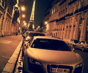 paris, car, and audi image