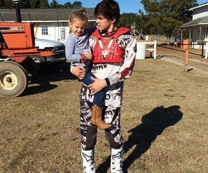 sister and brother, love, and hayes grier image