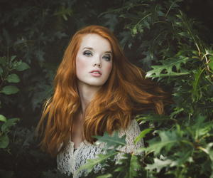 beautiful, photography, and red hair image