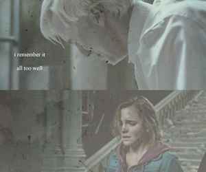 dramione, broken hearts, and pain image