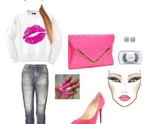 christian louboutin, kiss, and lashes image