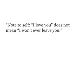 quote, love, and note image