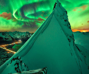 mountains, nature, and norway image