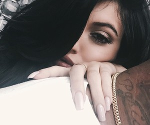 kylie jenner, nails, and kylie image