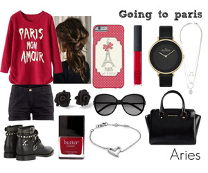aries, astrology, and bag image