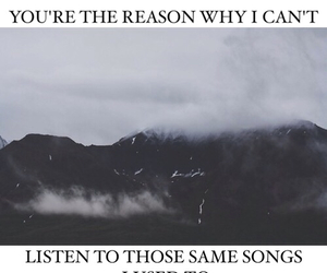song, sad, and quote image
