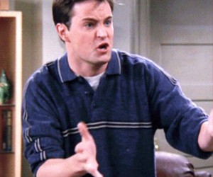 friends, gif, and chandler bing image