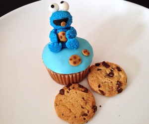 cupcake, monster, and cute image