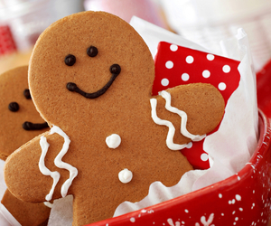 christmas, sweet, and cookie image