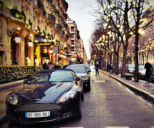 car, luxury, and lights image