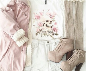 pink, pretty shoes, and style image