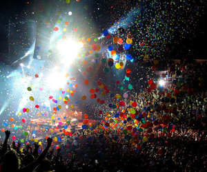 balloons, colors, and lights image