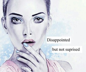 disappointed, drawing, and girl image