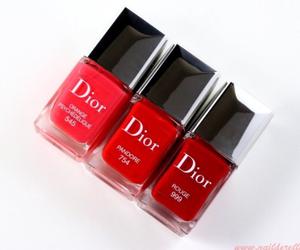dior, nail polish, and rouge image