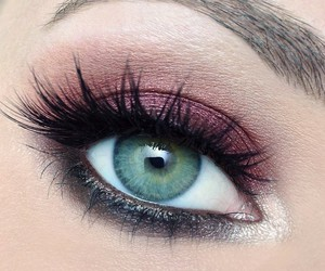 makeup, eyes, and inspiration image