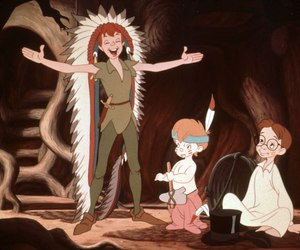 disney, funny, and the lost boy image