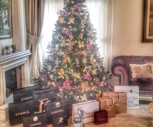 christmas, luxury, and chanel image