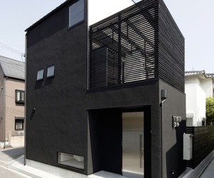 black, house, and modern image