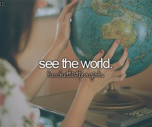travel, bucket list, and world image