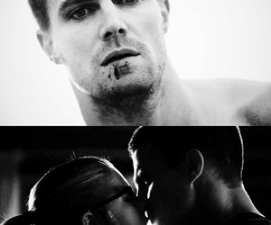 arrow, couple, and oliver queen image