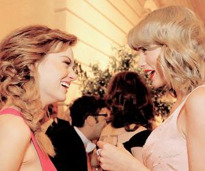 emma stone and Taylor Swift image