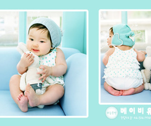 asian, baby, and bunny image